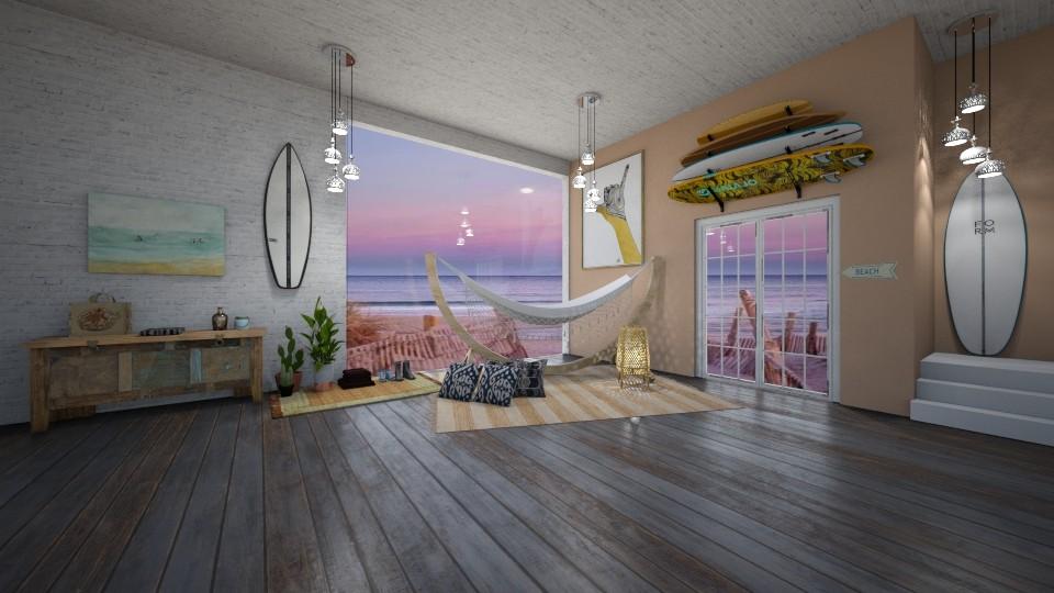 beach lounge - by gretchen2005