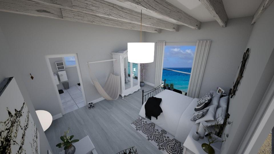 on the beach - Modern - Bedroom - by skylerbrown