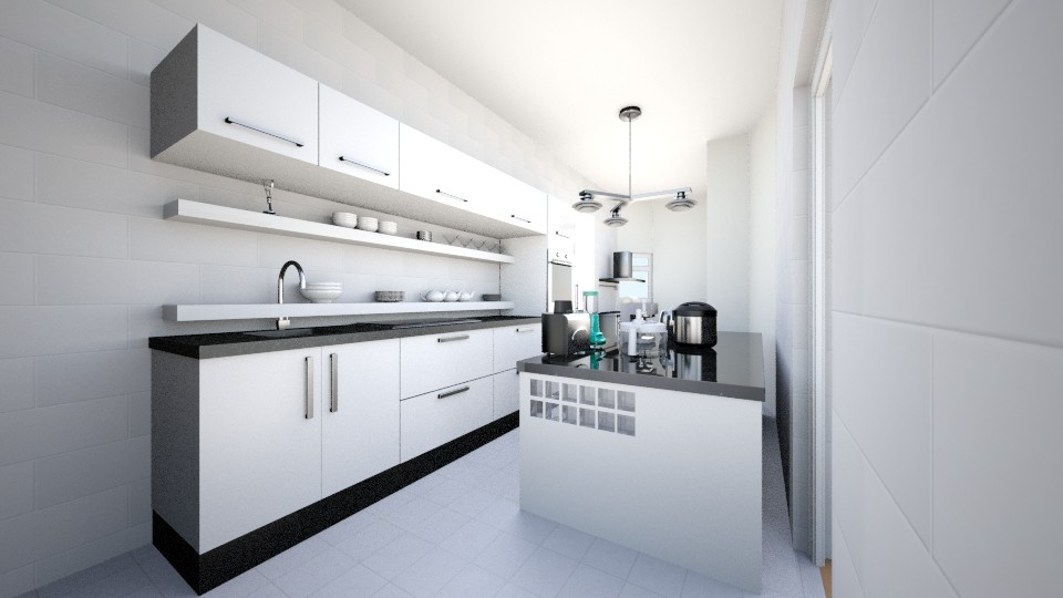 Kitchen - Modern - Kitchen  - by Everybodyloveskm