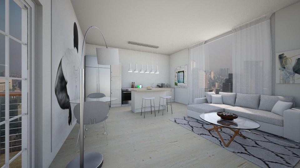 white open living - Modern - by salisha222