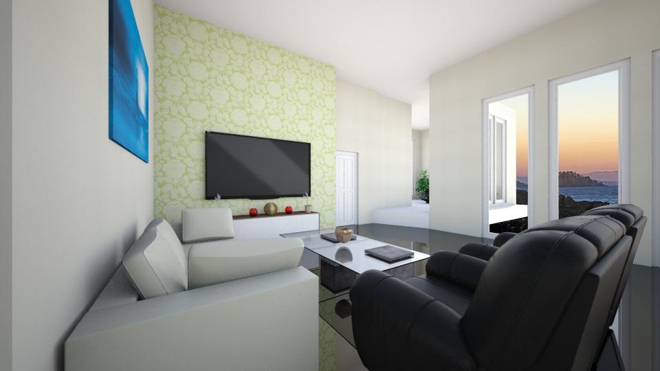 my house - Living room - by Yulita Riauwaty