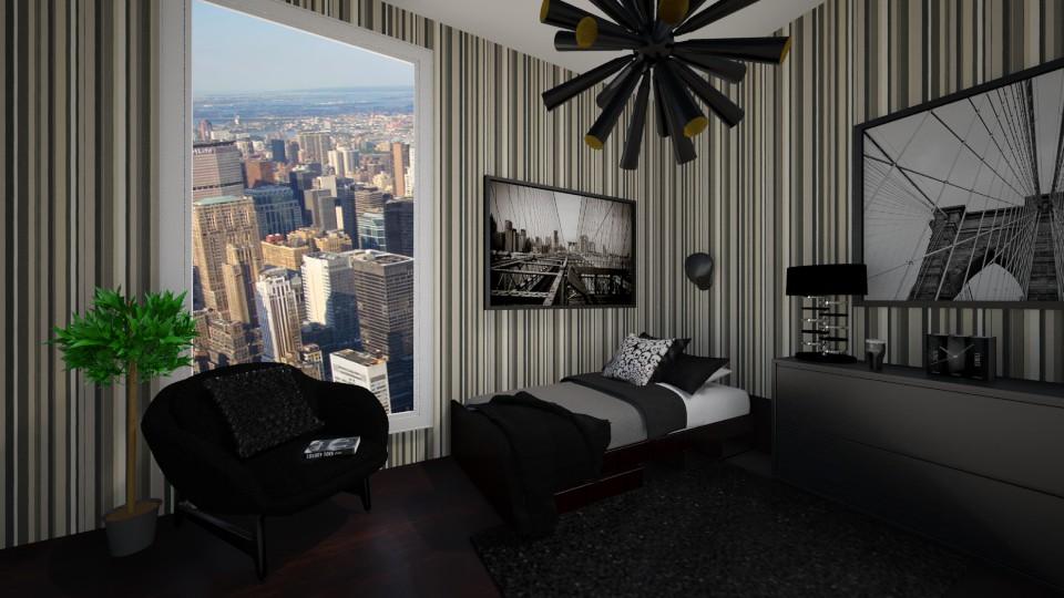 Boyroom - Bedroom - by erika327
