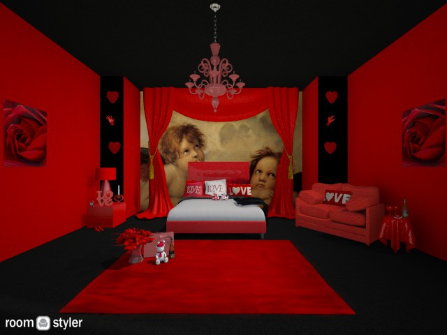 Valentines - Bedroom - by creato