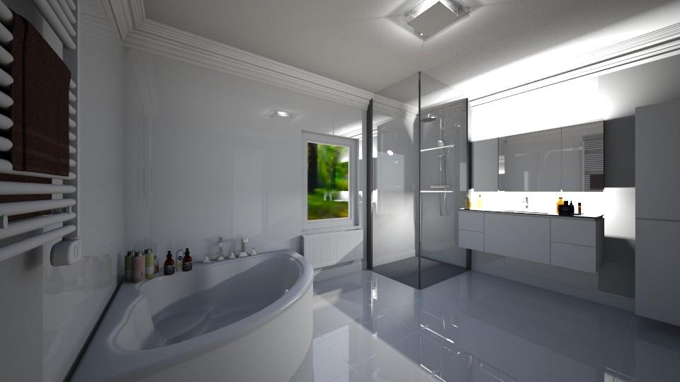 1 - Bathroom - by pasja_
