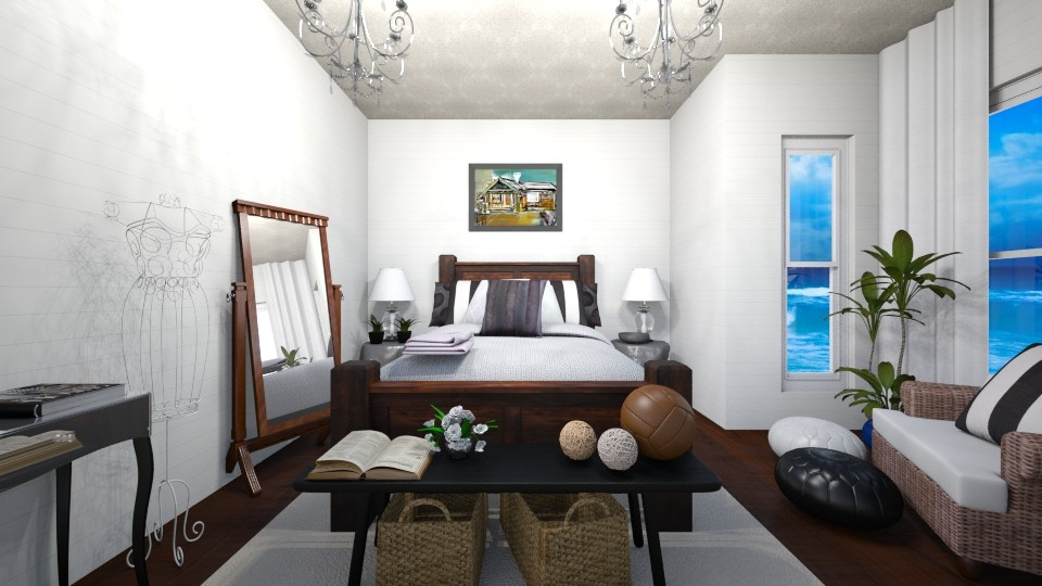 Rustic Oasis - Global - Bedroom  - by Raquel Collison