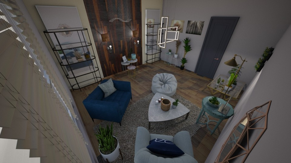 Plants C - Living room - by Niva T
