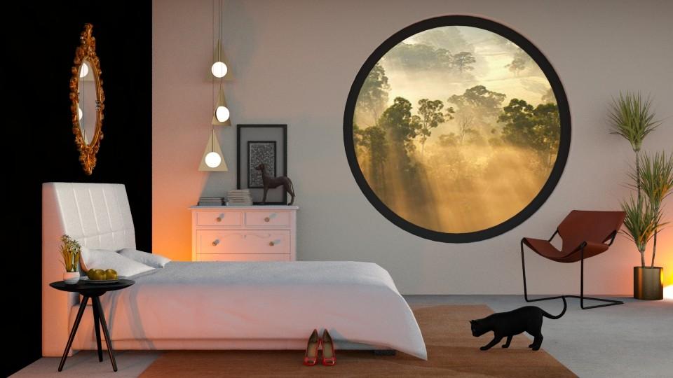 Round Window - by DeborahArmelin