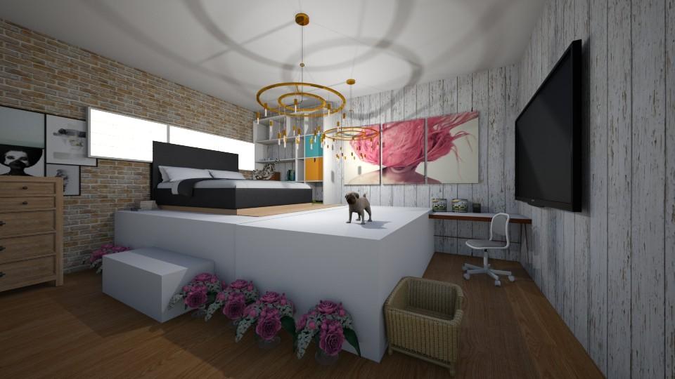 Modern rival - Modern - Bedroom  - by Okurrrr