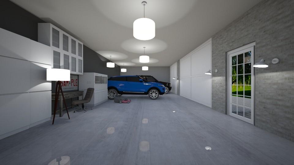 Garage - by The cartoon fan