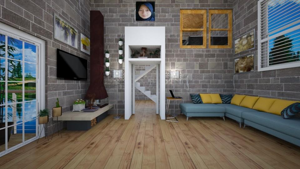 Duplex Apartment - by Siti Idrus
