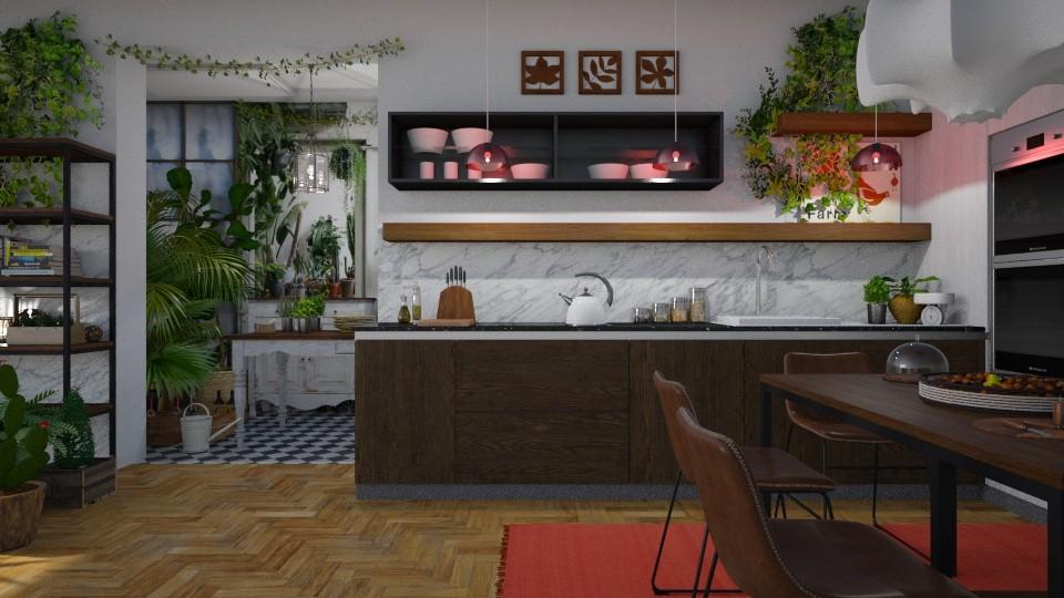 Jungle cucina - by rossella63