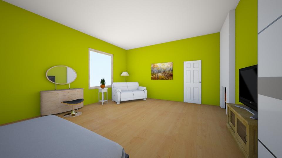Empsi magamistuba - Bedroom - by katlinstrikholm