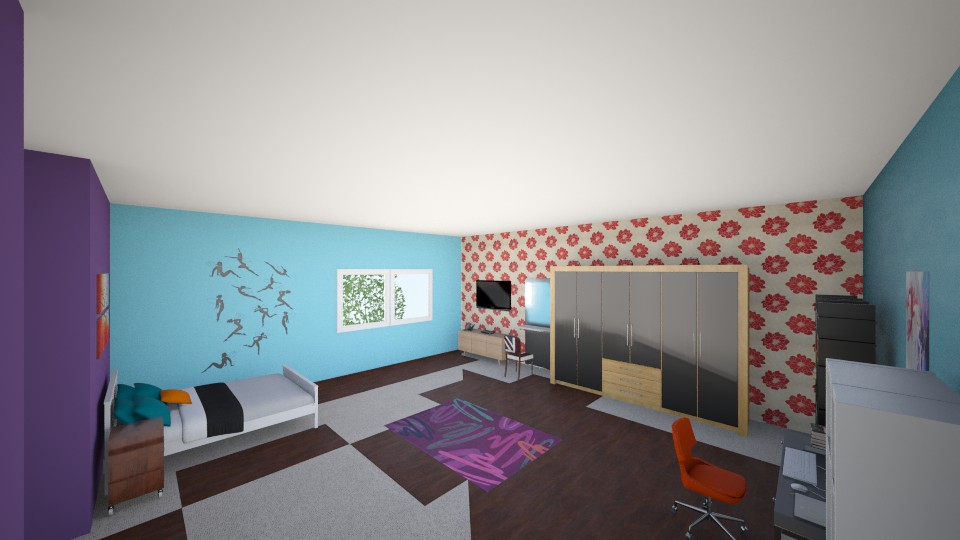 Meu quarto 2 - by Beatriz B