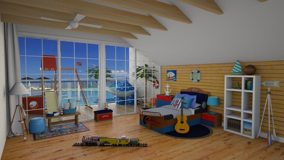 Pirate kids Room - Modern - Kids room - by carina68