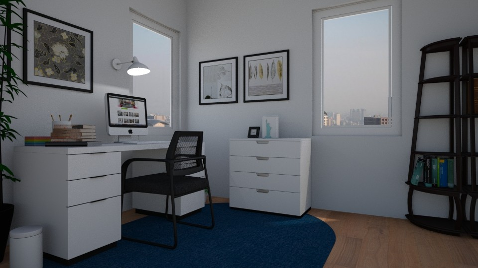 Office with City view - by salisha222