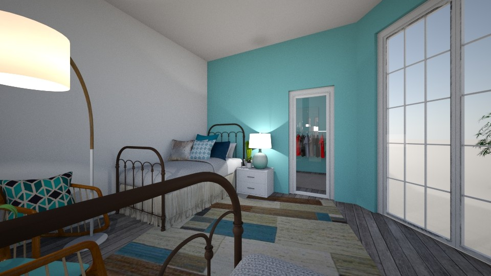 Blue - Classic - Bedroom  - by Angel122