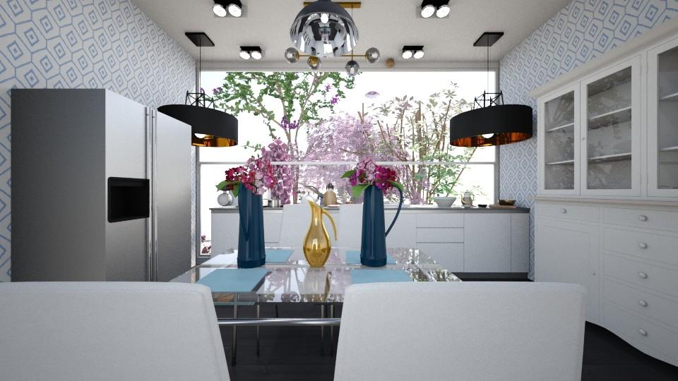 Seawhispers - Kitchen - by hala011