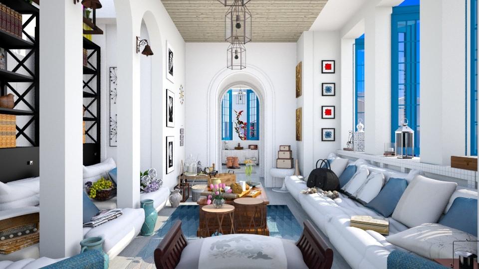 Greece Living - Living room - by Seii Saii