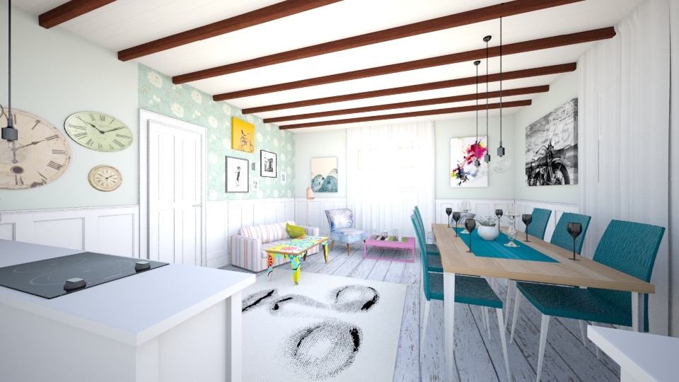 kit1 - Country - Kitchen - by Rory Ronald