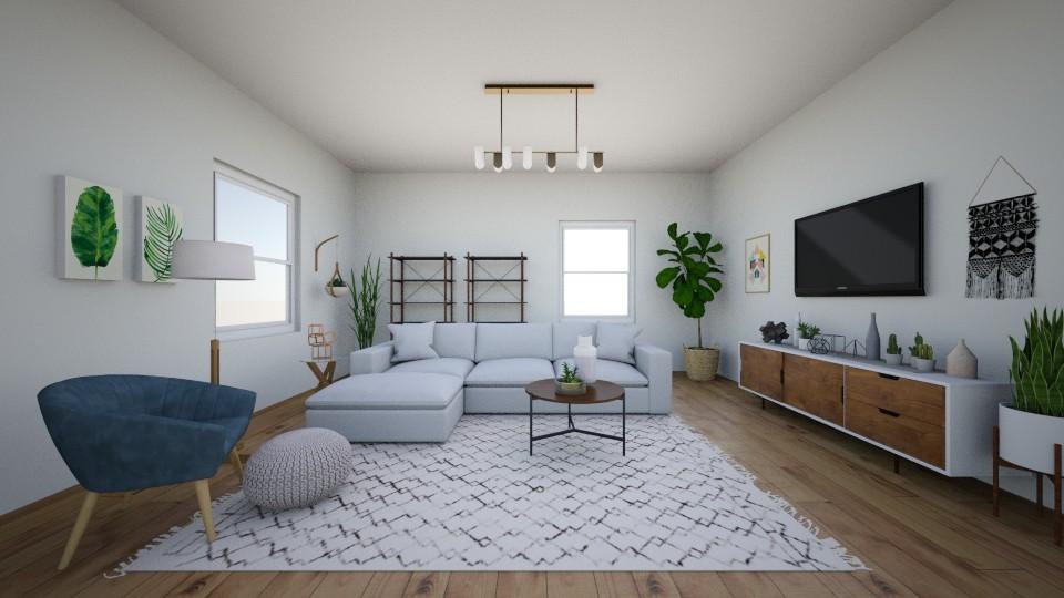 Fresh Vibes - Living room - by Jane Rawle