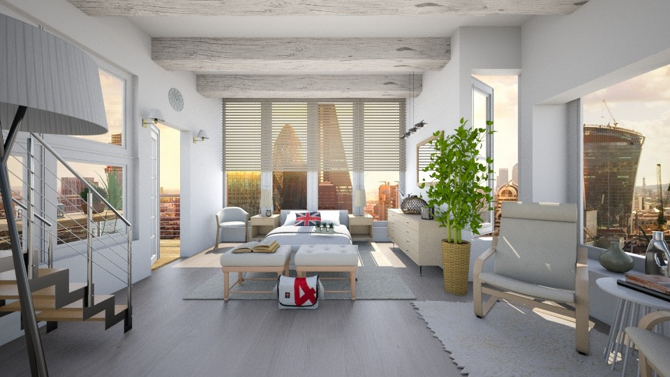 Modern Bedroom - Modern - Bedroom  - by christoforos