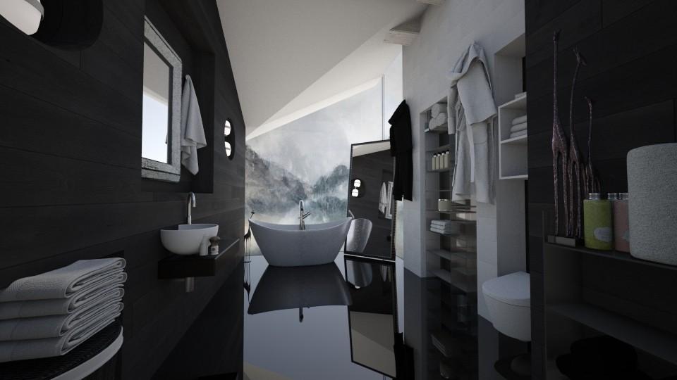 Attic Bathroom - Bathroom - by Amal Soloman