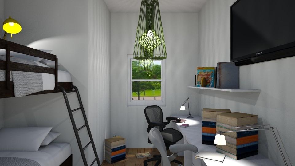 Teenage room - Classic - Bedroom  - by pornnatcha