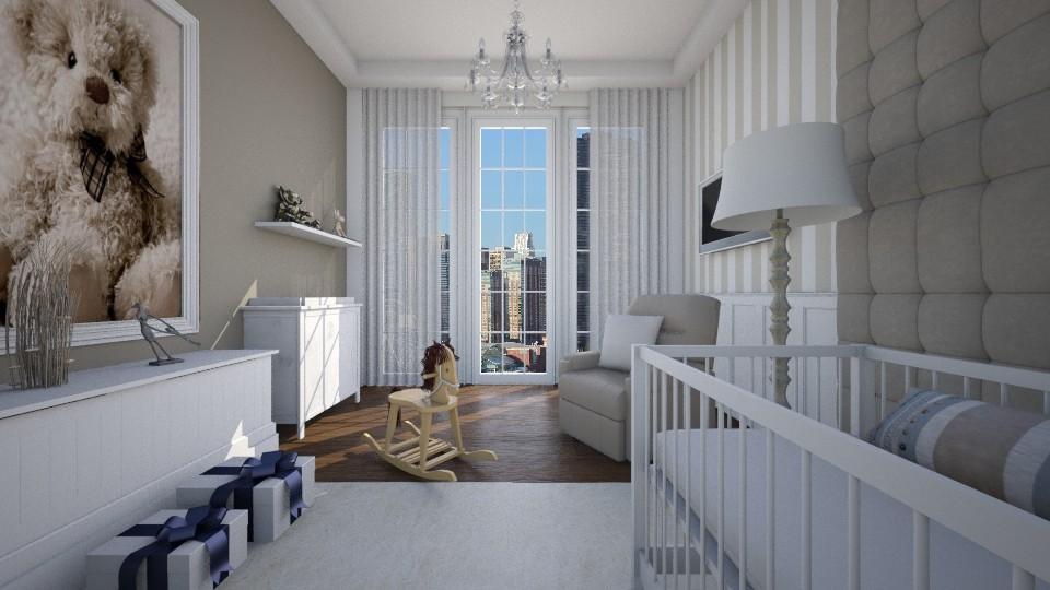 Quarto Infantil Apart - Bedroom - by Valeska Stieg