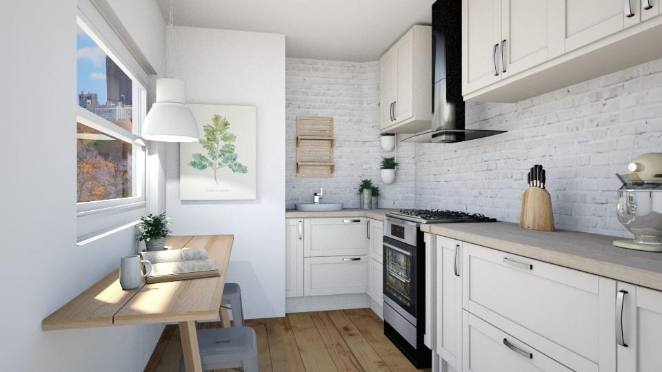 k i t c h e n - Kitchen - by _xandra_
