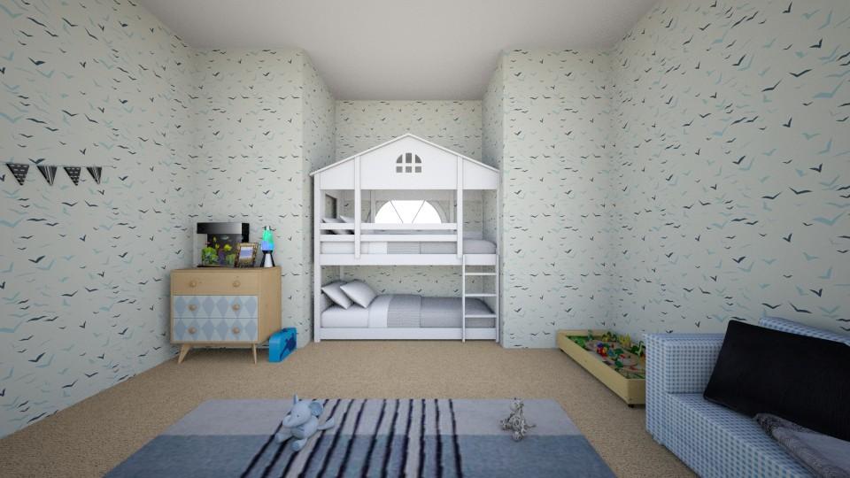 Amazing Kid Room - Kids room - by RAF2024