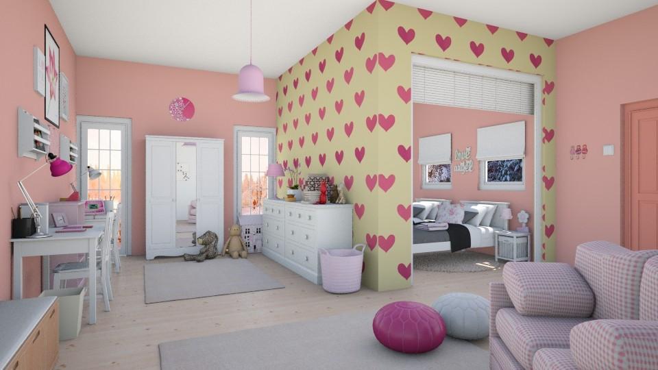 Twins world - Kids room  - by agapka