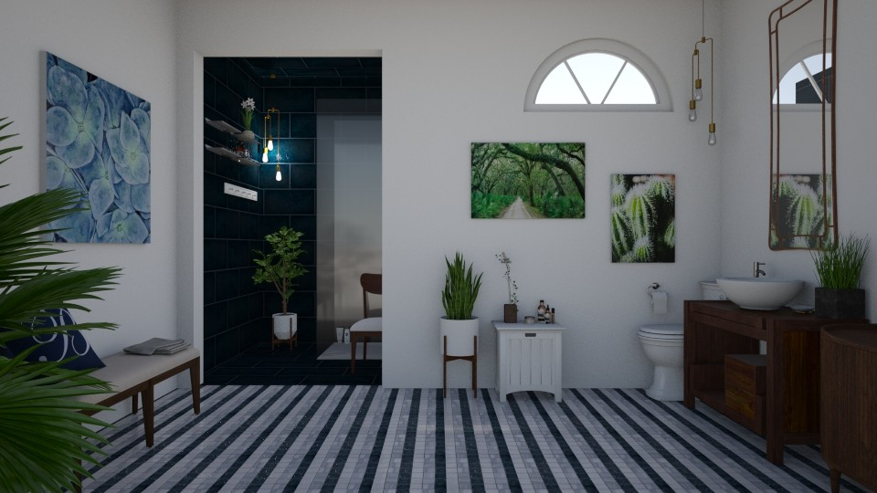 MCM Bathroom - Bathroom - by emilydamkjr