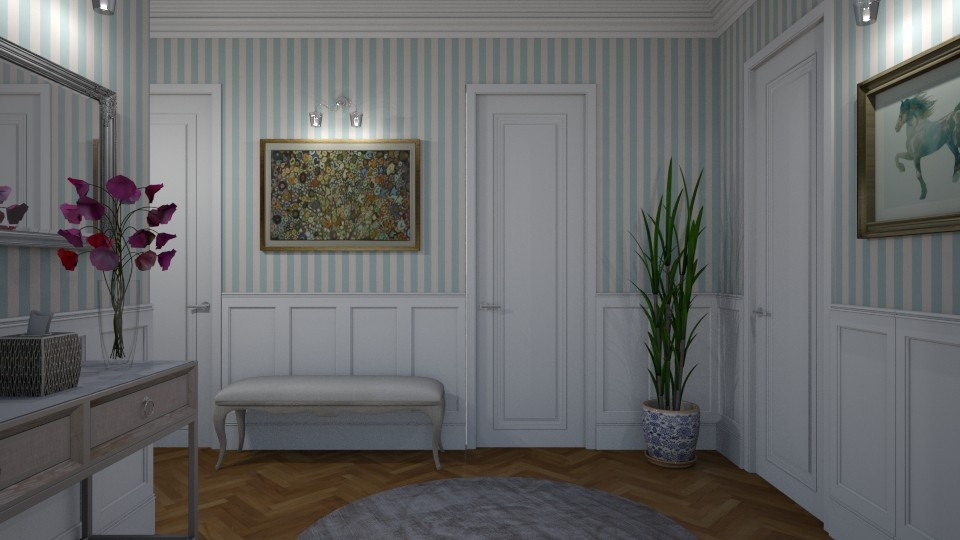 Hallway - Glamour - by Annathea