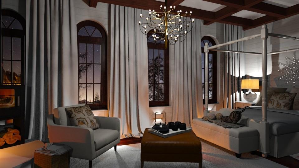 Swiss Snowfall - Bedroom - by Vie Confortable