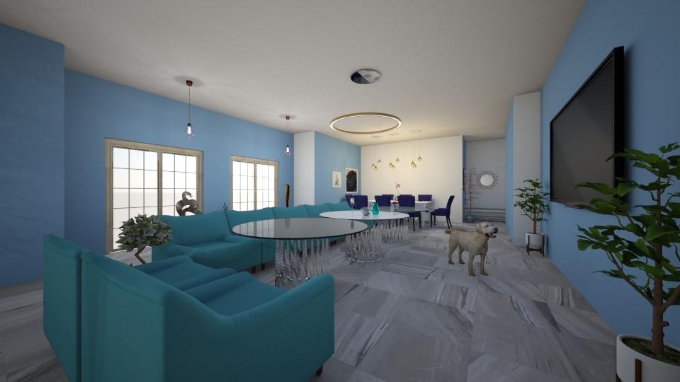 project 2 - Modern - Living room - by Edyta Bak