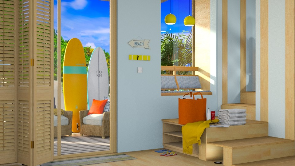 Surf Foyer - Living room - by mmehling