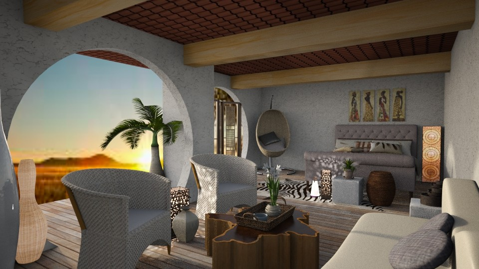 Africa - Bedroom - by House of Fritz