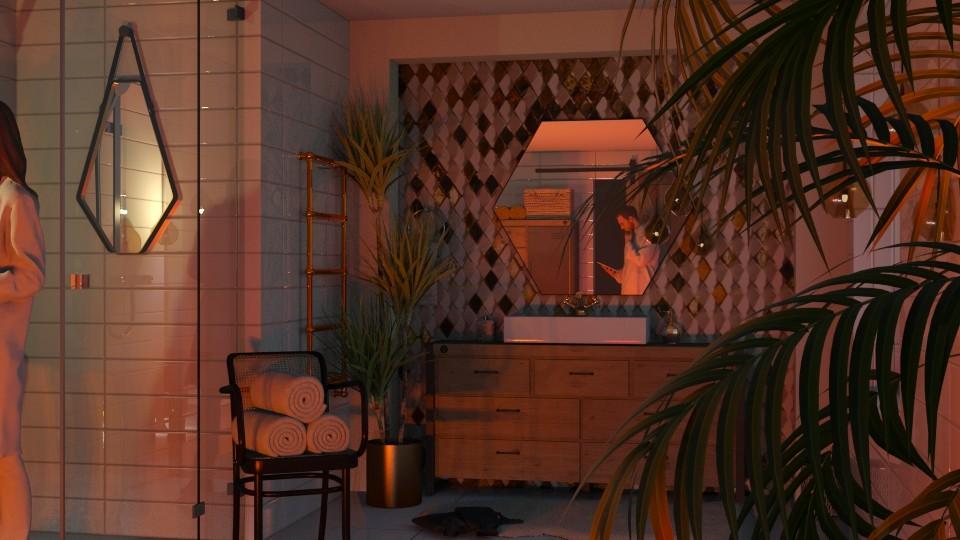 shower time  - by jolaskajp