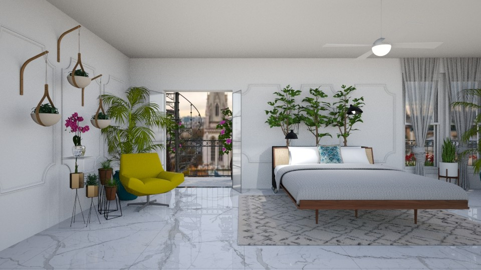 Urban Jungle Bedroom - Modern - Bedroom - by jjp513