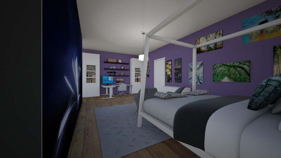 Adelaides Bedroom - Bedroom - by LaurenTheOwl95