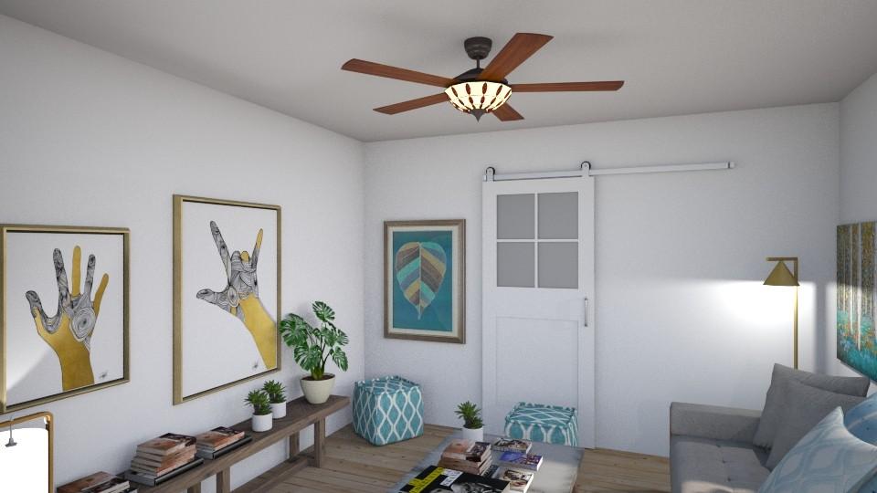 Living R room Rebeca 2018 - Living room - by Rebecaib