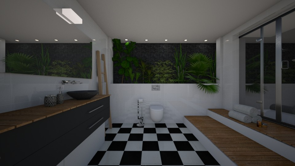 lev3 - Bathroom - by AleksandraZaworska98
