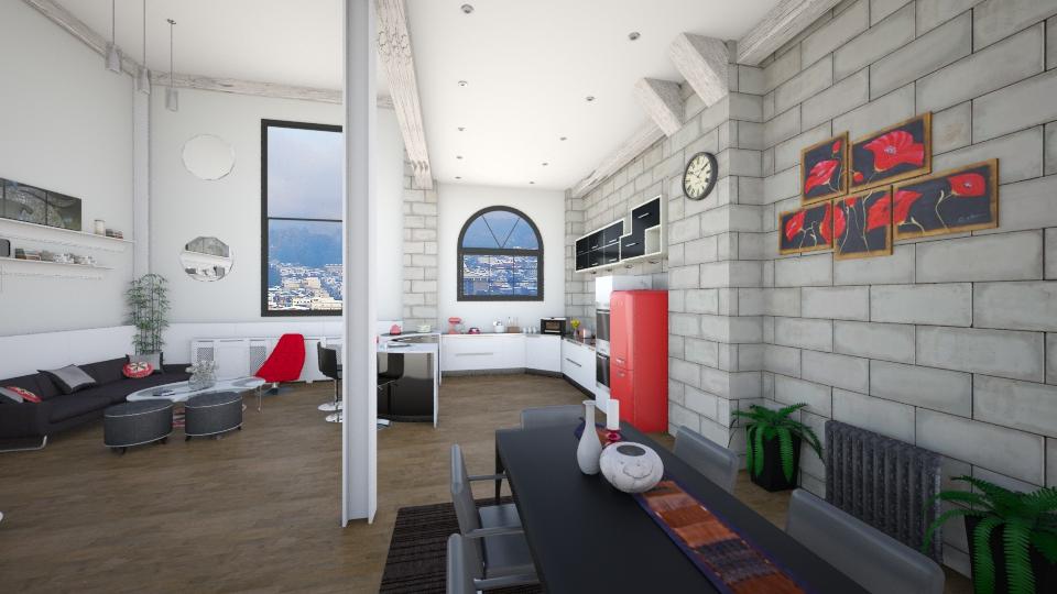 dddd - Living room  - by ivaninayo