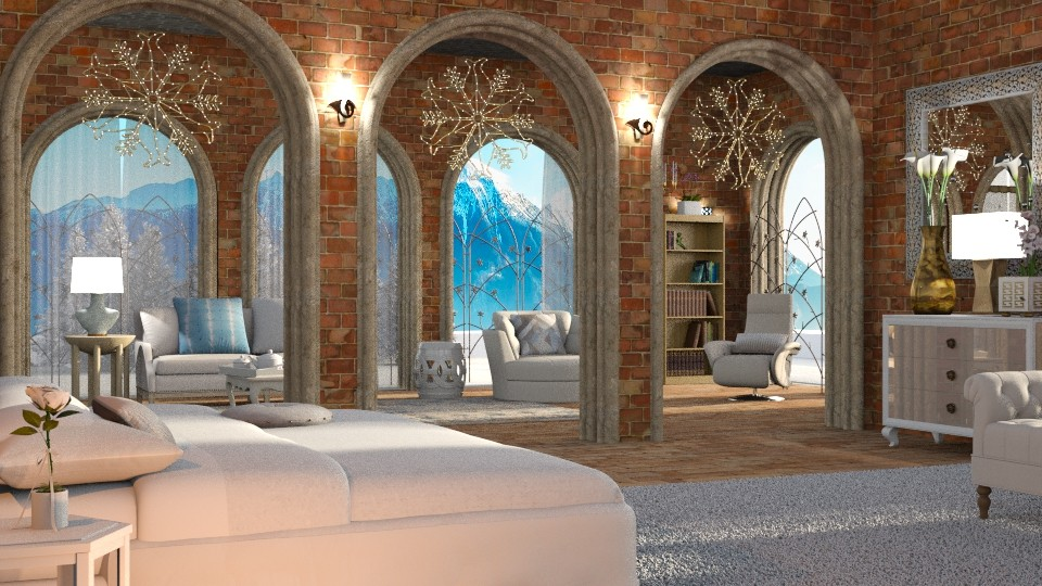 Blue mountain retreat - Bedroom - by anchajaya