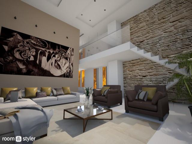 Villa LIving Room - Living room - by MilaMao