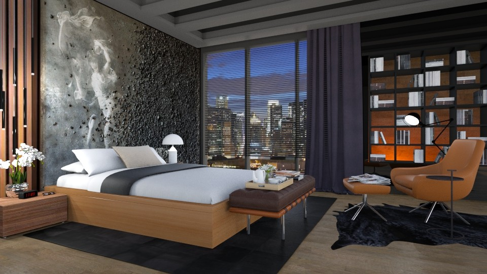 wall mural - Modern - Bedroom - by Valkhan
