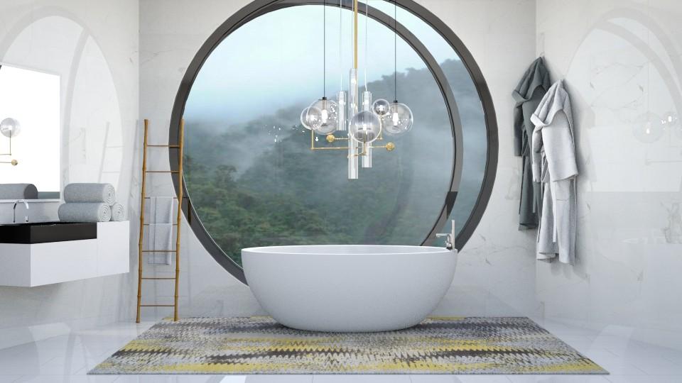 cloudy - Bathroom - by stella_06