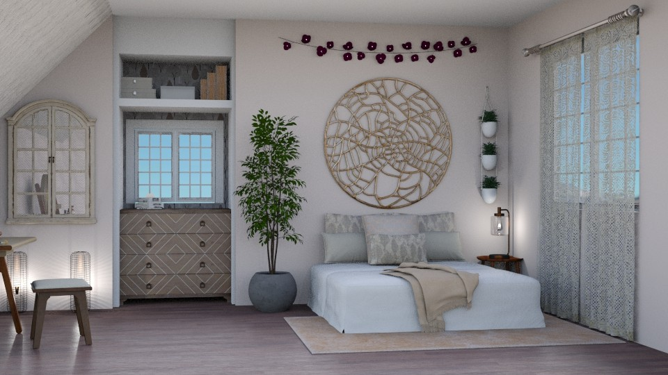 Winter Fairy - Bedroom - by elle rose