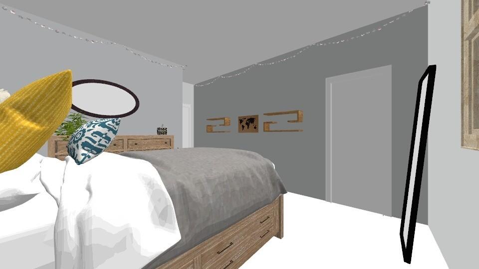 Dream room - Bedroom - by Mella2210