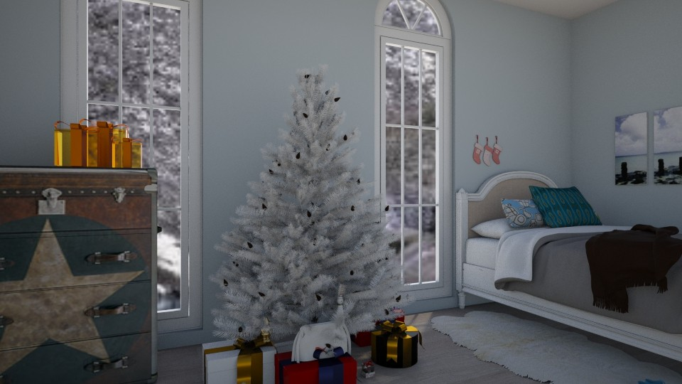 Christmas Star - Bedroom  - by bleeding star